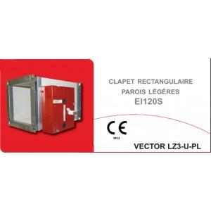 Klima riv 39 air clapet coupe feu vector lz3 u pl ei120s - Installation clapet coupe feu ...